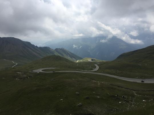 Carretera con curvas