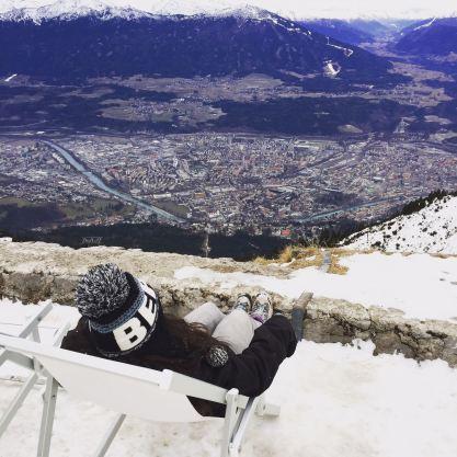Vistas de Innsbruck en hamaca
