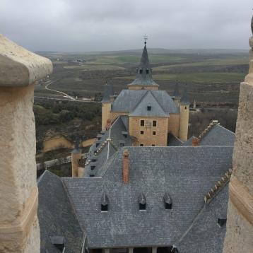 Vistas hacia las afueras desde la torre
