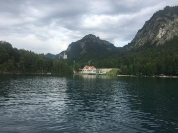 Neuschwanstein desde el lago
