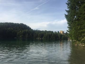 Hohenschwangau desde el lago