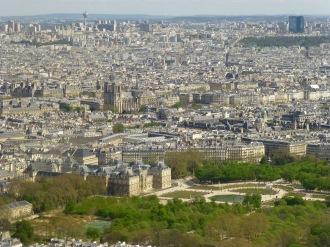 Notre Dame desde arriba