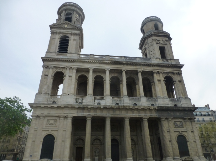Fachada de Iglesia de Saint Sulpice